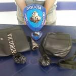 Efectivos de Policarabobo detuvieron a tres hombres y recuperaron un envoltorio de presunta droga.