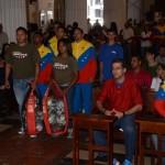 Thaer Hasan y Yuri Quiñones acompañaron a atletas, entrenadores y dirigentes del estado Carabobo.