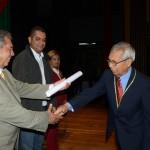 Acto de reconocimientos a los educadores de la municipalidad de Valencia.