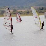 "Más de 60 windsurfistas se estarán disputándose la ""Copa Fundadeporte"" este fin de semana"