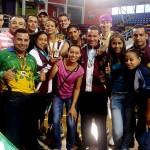 Los subcampeones del I Campeonato Nacional adulto