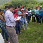 habitantes que hace vida en la paraguita se reunieron con representantes de la alcaldía y gobernación de Carabobo para buscarle una solución a la problemática que los embarga