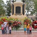 Ofrenda Floral Natalicio del Libertador