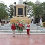 ofrenda floral natalicio del libertador plaza bolivar 24-07-2013 fotos pedro martin (85)