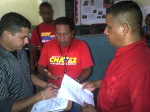 Inscripción Oficial ante la Junta Municipal Electoral de San Joaquin
