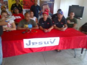 JPSUV de Libertador respalda candidaturas unitarias