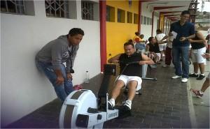 Rowing una disciplina para la practica de las personas con Downg
