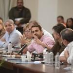 .- Rafael Lacava explicó en la reunión lo acertado del sistema de video vigilancia