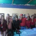 Juramentacion de Barrio Nuevo Tricolor