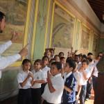 Niños y niñas del Colegio Nuestra Señora del Rosario disfrutaron del cuentacuentos Tin Marín.