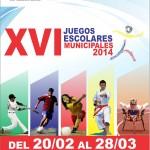 Juegos Deportivos Escolares Municipales 2014