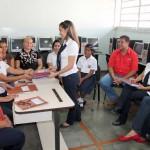 """Al igual que en todo el estado Carabobo, en la E.B. """"Miguel González Granadillo"""" está ealizándose la inscripción y entrega de credenciales de docentes interinos."""